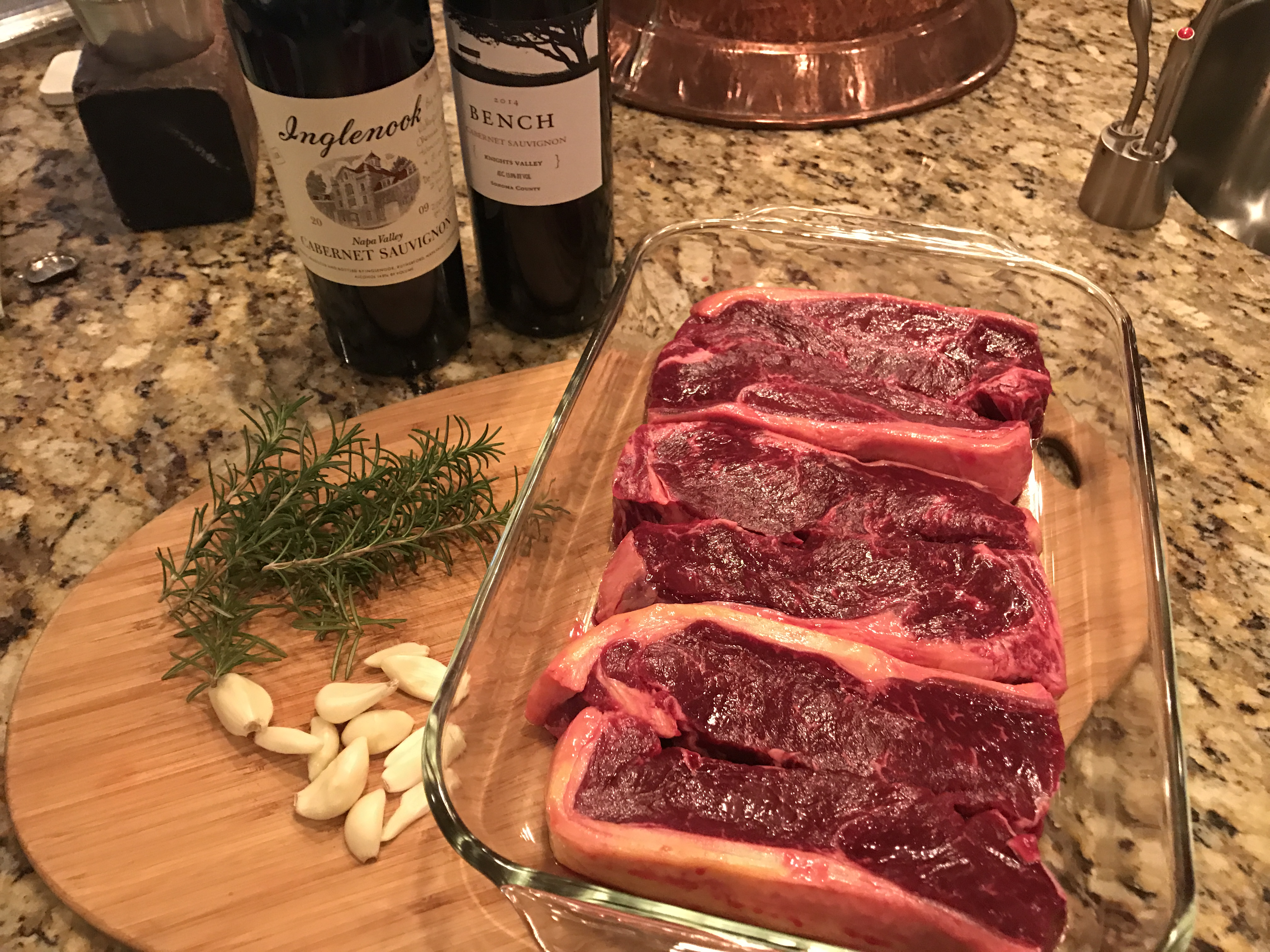 Grass-fed Steaks from Twin Creeks Ranch